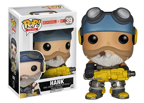 POP! Games: Evolve - Hank Vinyl Figure #39
