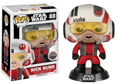 POP! Star Wars: Nien Nunb Vinyl Bobblehead Figure #88 (GameStop Exclusive)