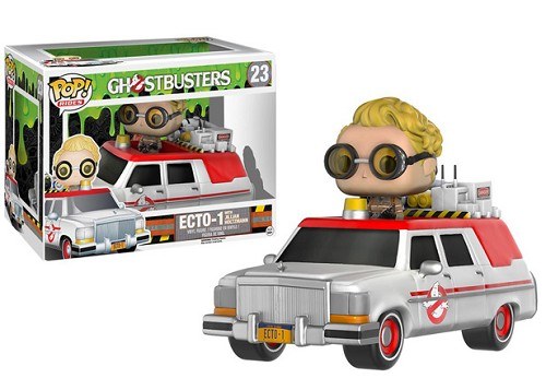 POP! Rides Movies: Ghostbusters 2016 Ecto-1 with Jillian Holtzman Vinyl Figure #23