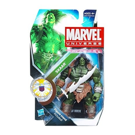 Marvel Universe: Series 3 - Skaar Action Figure #16 (Son of Hulk Stand Variant)