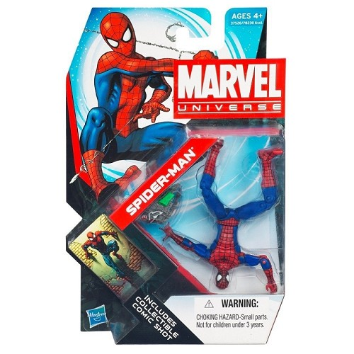 "Marvel Universe: Series 4 - Spider-Man 3.75"" Action Figure #07"