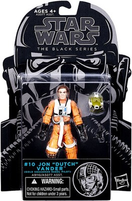 "Star Wars: The Black Series - Jon ""Dutch"" Vander (Gold Squadron Rebel Pilot) 3.75"" Action Figure #10"