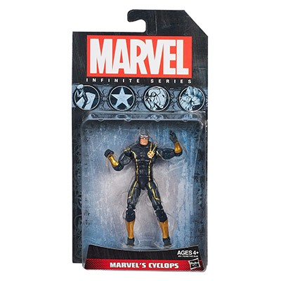 "Marvel Infinite Series: Wave 3 - Cyclops 3.75"" Action Figure"