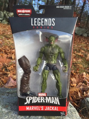 "Marvel Legends: Jackal 6"" Action Figure (Build A Figure Series: Sandman)"