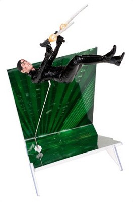 McFarlane Toys: The Matrix Reloaded - Trinity Falls Action Figure Series 2