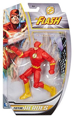 "Mattel DC Total Heroes: The Flash 6"" Action Figure"