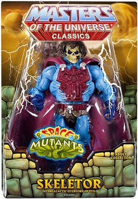 "Mattel Masters of the Universe Classics: Skeletor [Intergalactic Overlord of Evil] 6"" Action Figure"