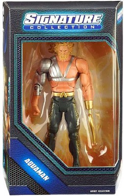 Mattel DC Signature Collection: Aquaman with Hook Action Figure