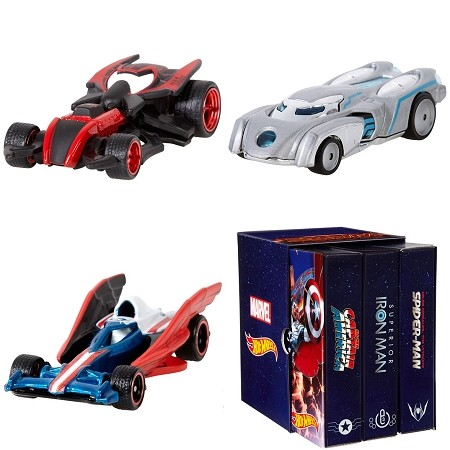 Mattel Hot Wheels: Marvel - Secret Wars Character Cars 3-Pack (SDCC 2015 Exclusive)