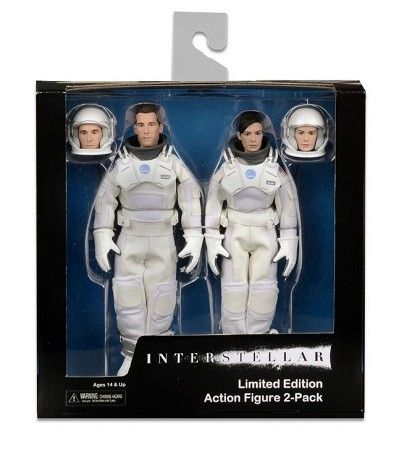 "NECA Interstellar: Limited Edition 8"" Clothed Figure Box Set"