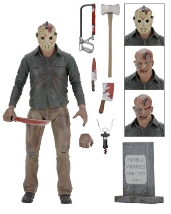 "NECA Friday the 13th Part 4: Ultimate Jason 7"" Scale Action Figure"